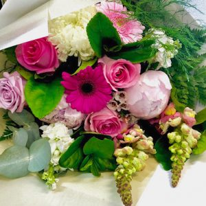 Pink Bouquet of Flowers
